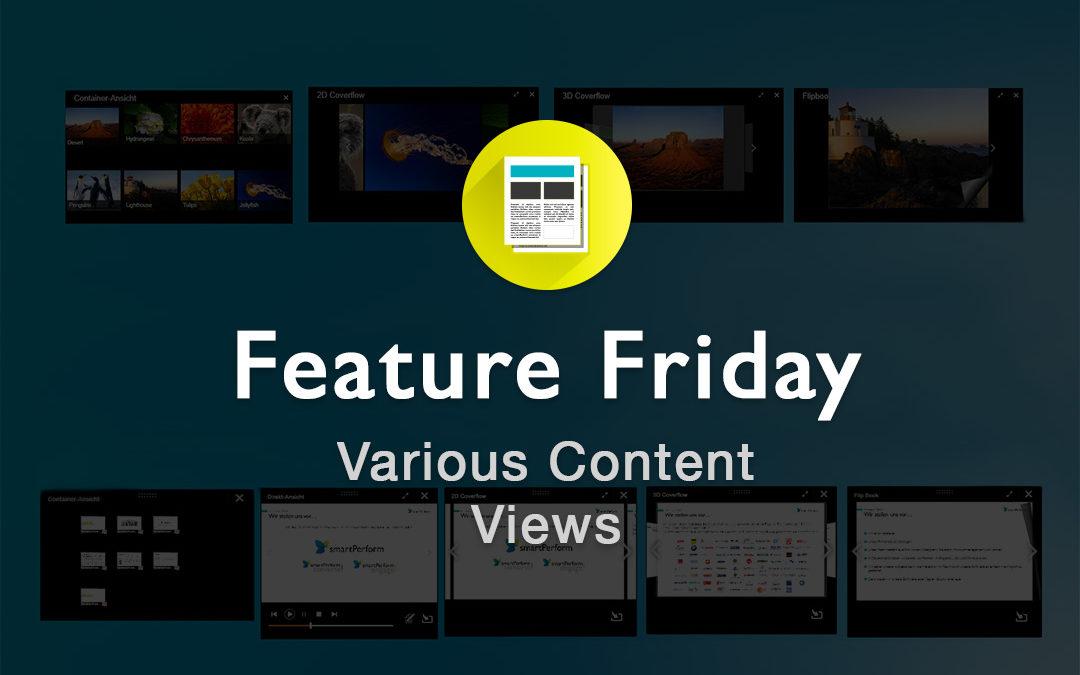 Various Content Views
