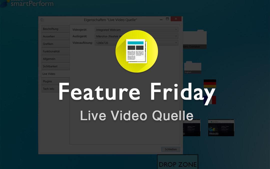 Live Video Quellen