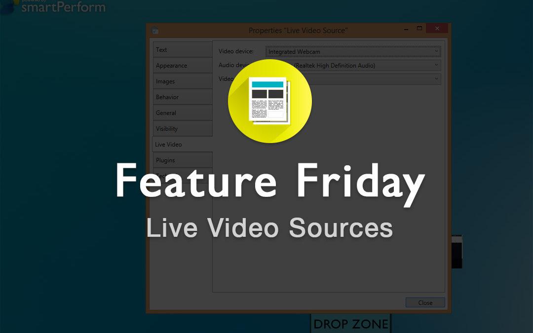 Live Video Sources