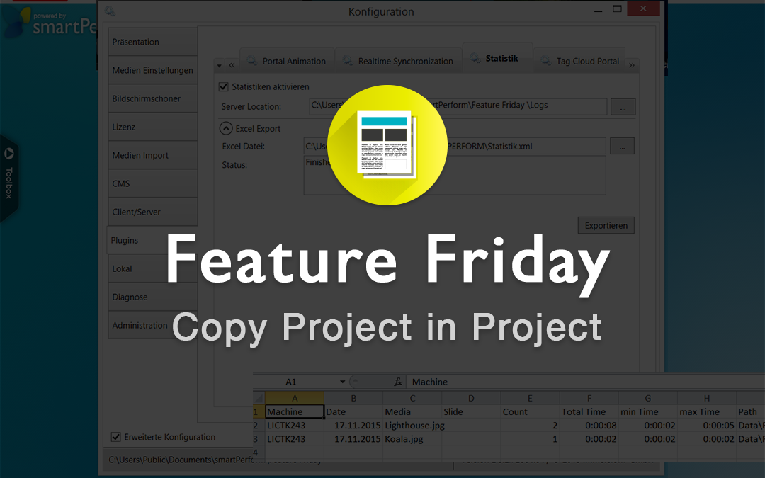 Copy Project in Project