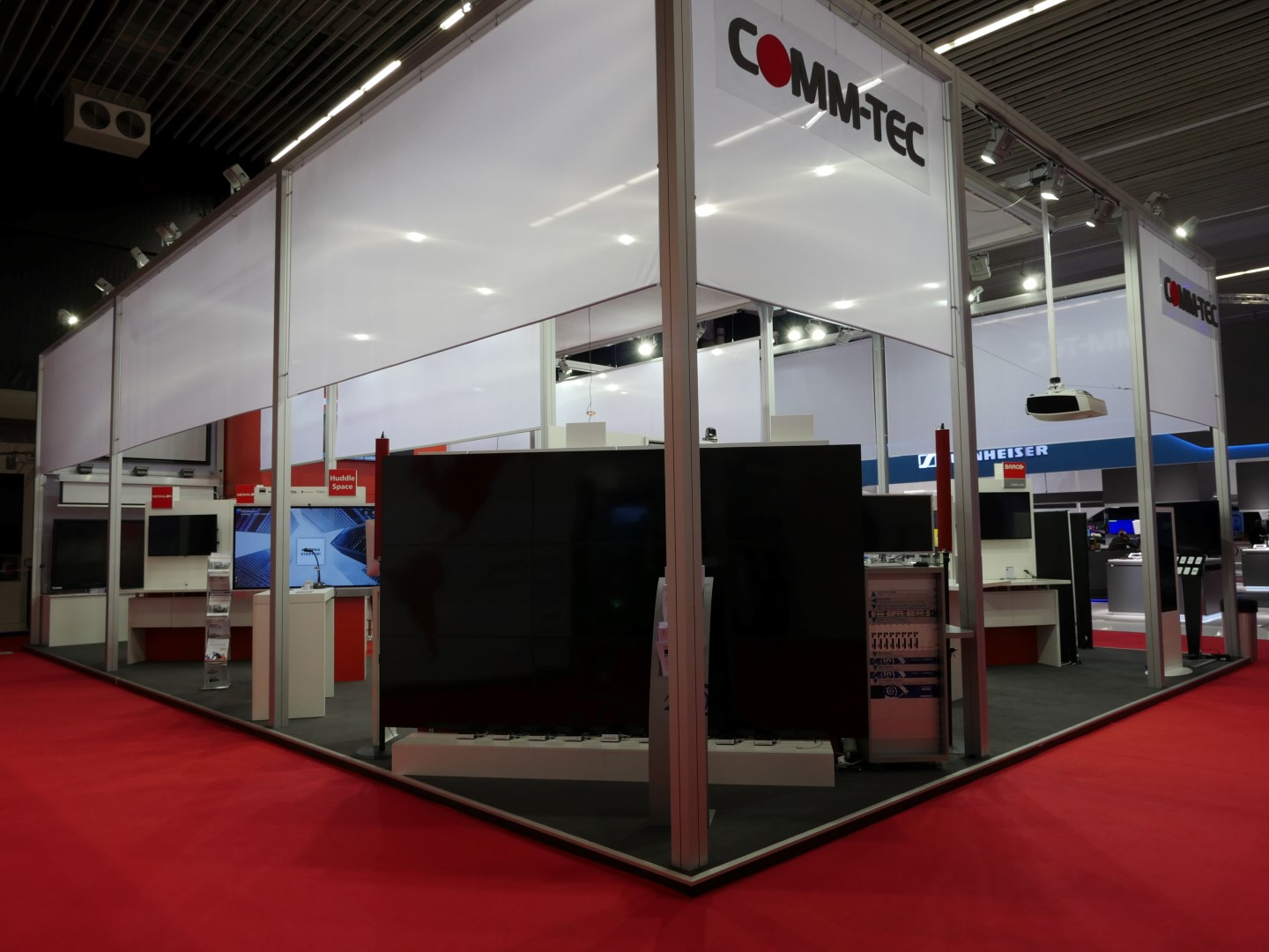 COMM-TEC Messestand