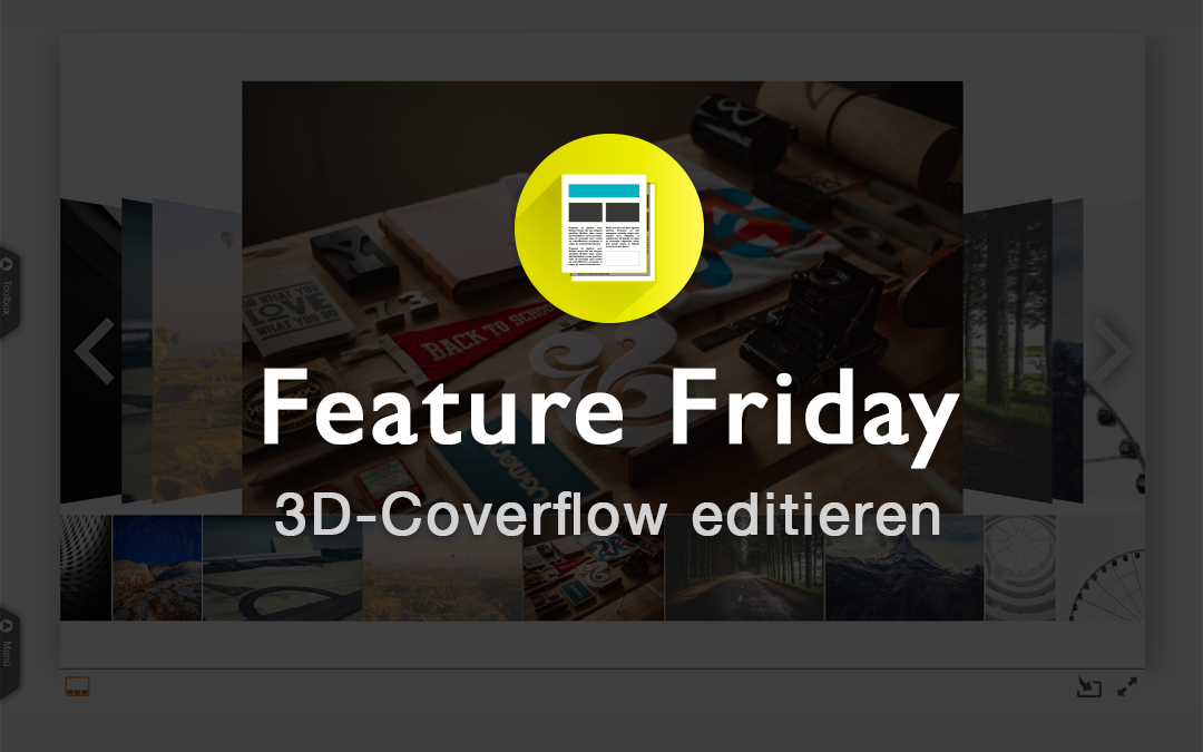 3D-Coverflow editieren