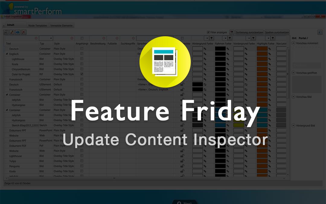 Update: Content Inspector