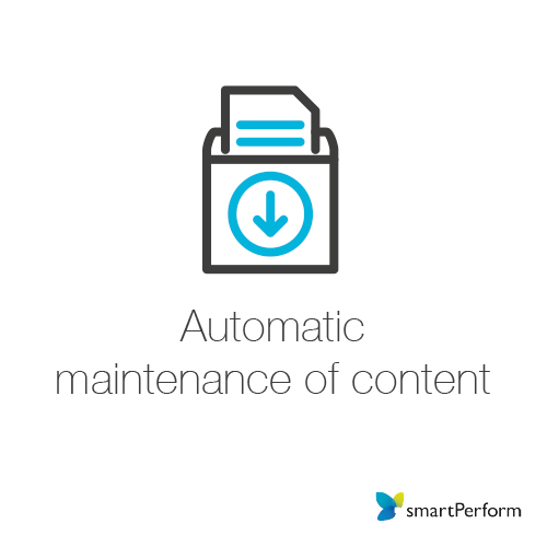 Automatic maintenance of content
