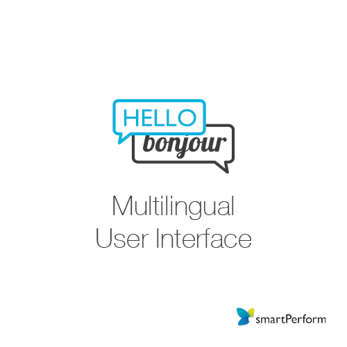 Multilingual User Interface