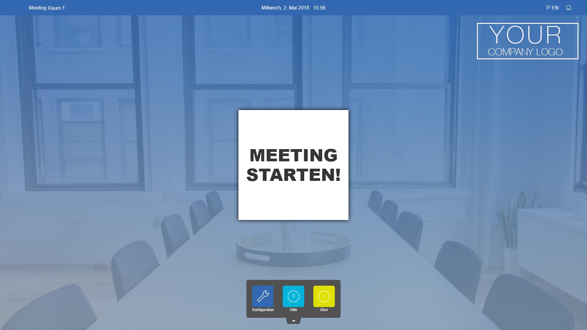 Meeting starten Button-Style