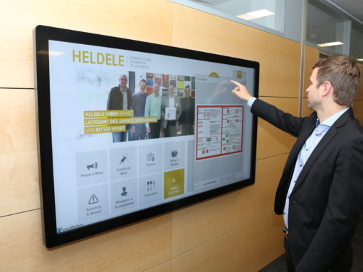 Heldele Corporate Communications – Digital Notice Board