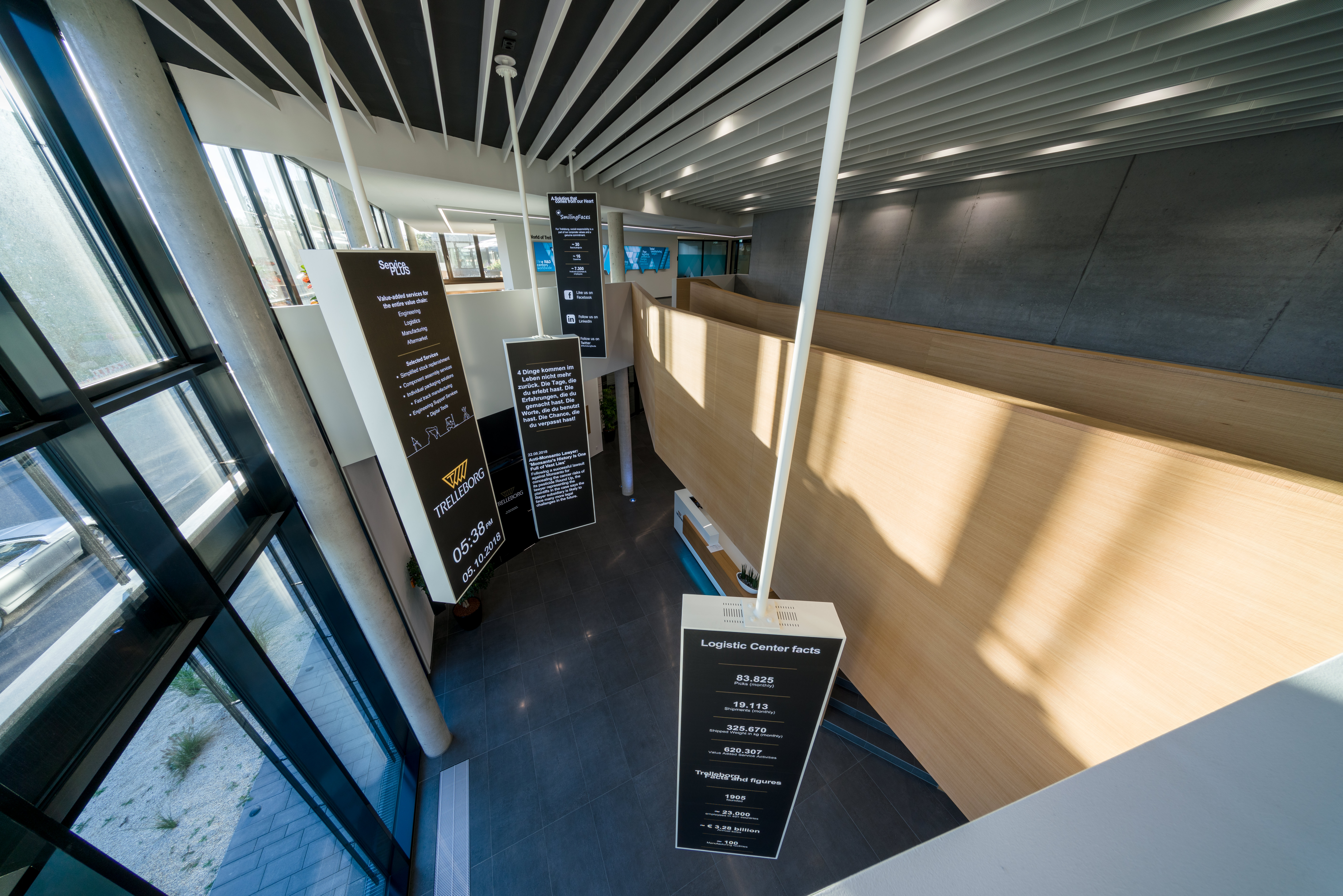 Neubau am Firmensitz Göppingen der Schuler AG
