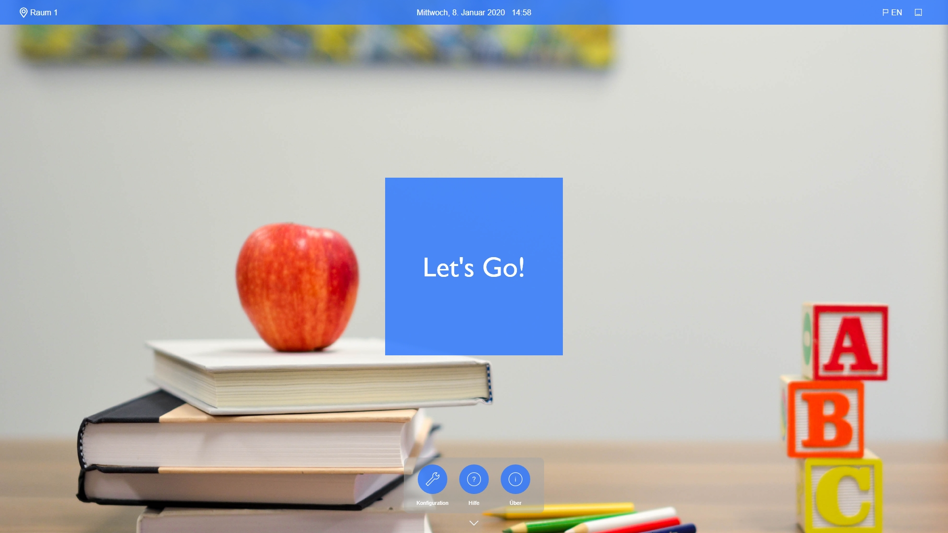 Education App Round-Button-Style